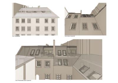 ansicht, linz, architekt, umbau, im bestand, sanieren, dachausbau