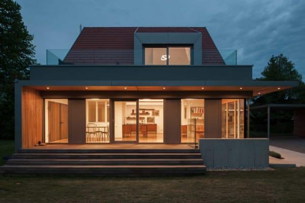 Umbau in Pasching; architekt; haus; modern; architektur; pasching; zubau; büroerweiterung; wohnung