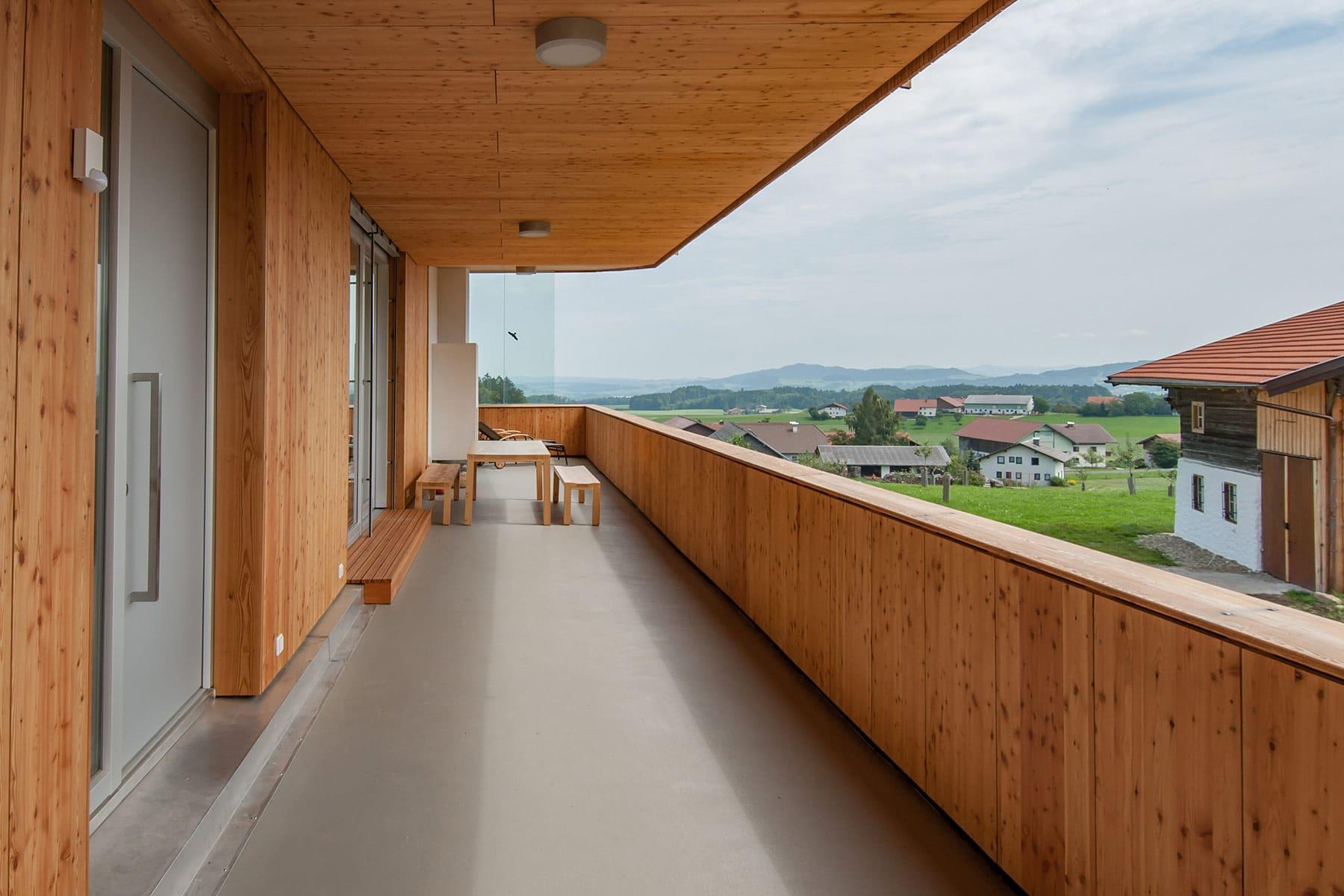 patio, holzhaus, architekt, haus, bauernhof, umbau, salzburg, landleben, loft, architektur