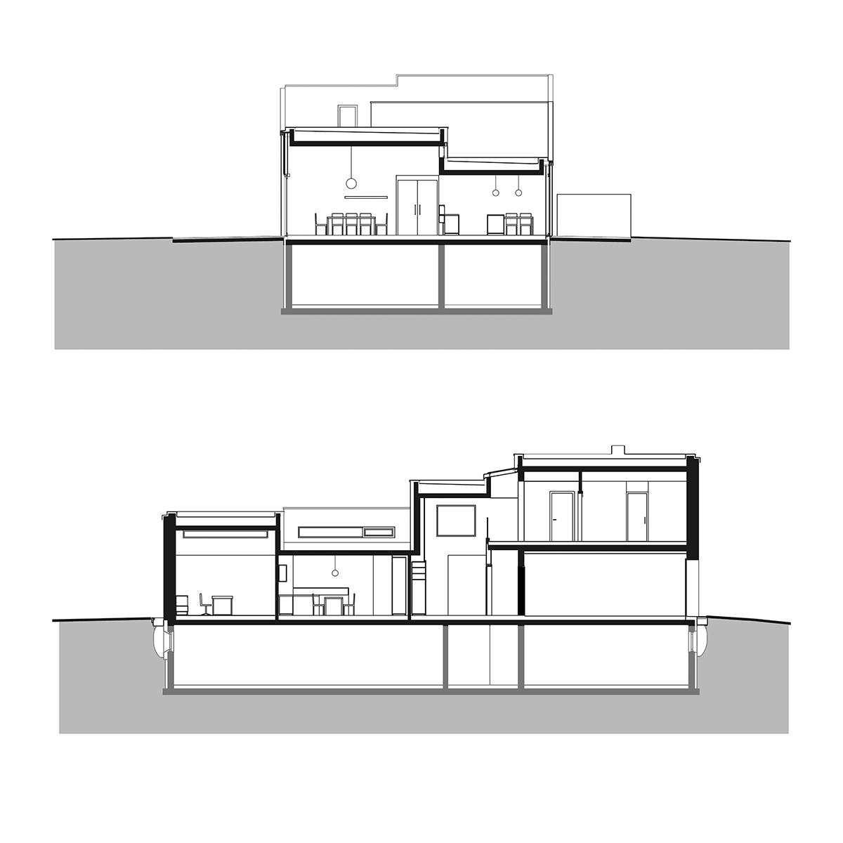 fassade, architekt, haus, modern, architektur, architektenhaus, auszugshaus, landleben, gartenarchitektur, pensionistenpaar,