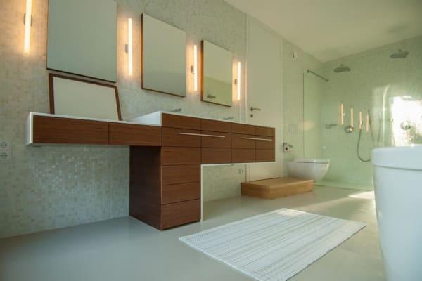 bad, haus, umbau, bauen im bestand, lobmaier, architekt, linz, aufstockung, modern, möbel