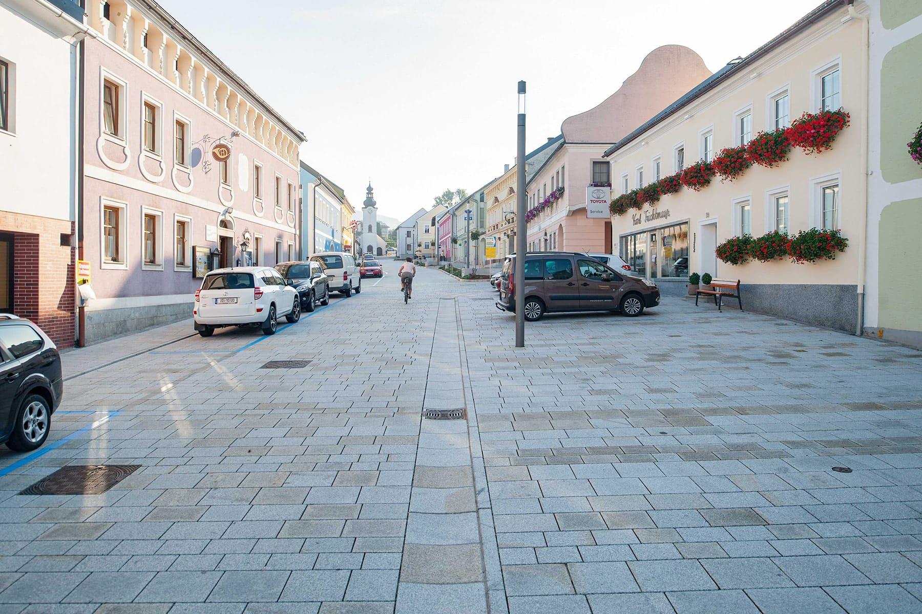 st.oswald, marktplatz, ortsplatz, dorfplatz, architekt, bürgerbeteiligung, zentrumsgestaltung, neugestaltung, begegnungszone, oberösterreich