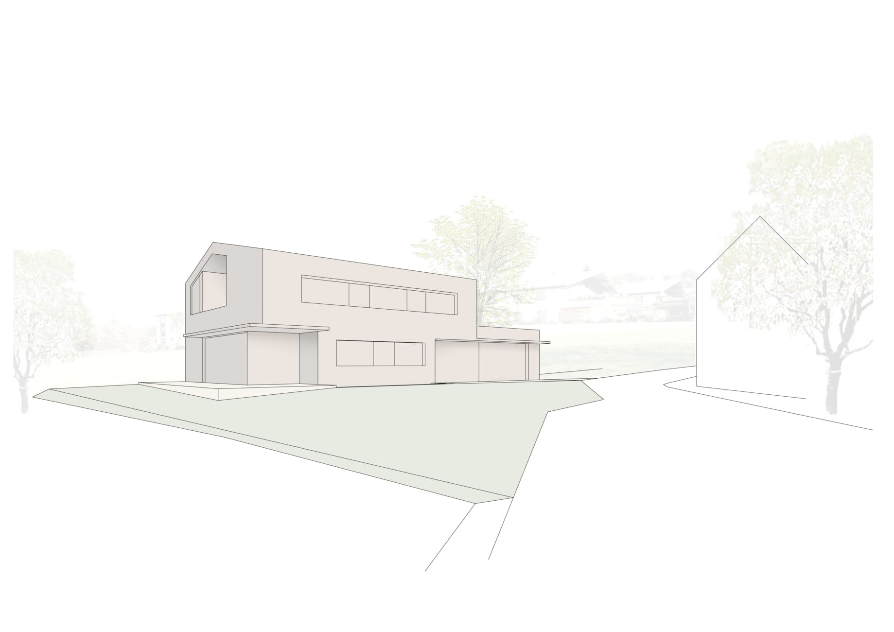 Holzhaus, Architektenhaus, Familie, Bach, Pool, Holzbau, Klavierraum, Landleben, Landhaus