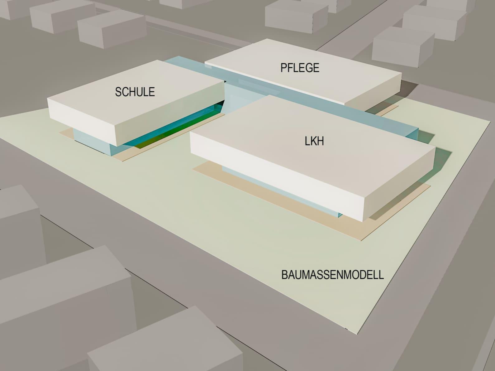 therapiezentrum, perchtoldsdorf, architekturwettbewerb, wohngruppen