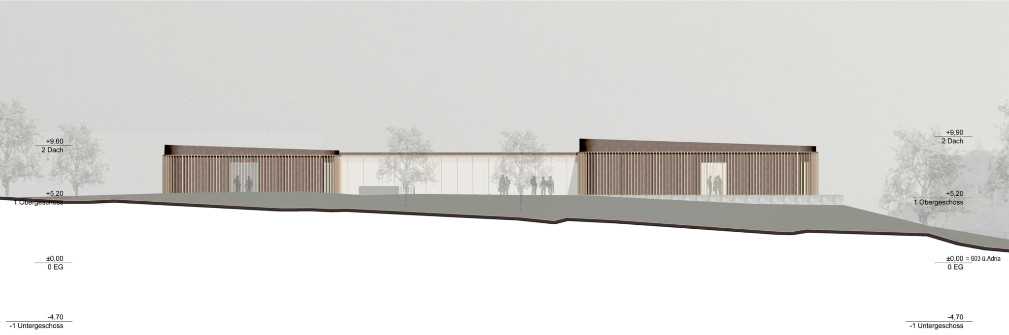 kunstsammlung, forschungszentrum, hall in tirol, kunstdepot, architektur, wettbewerb, kunst