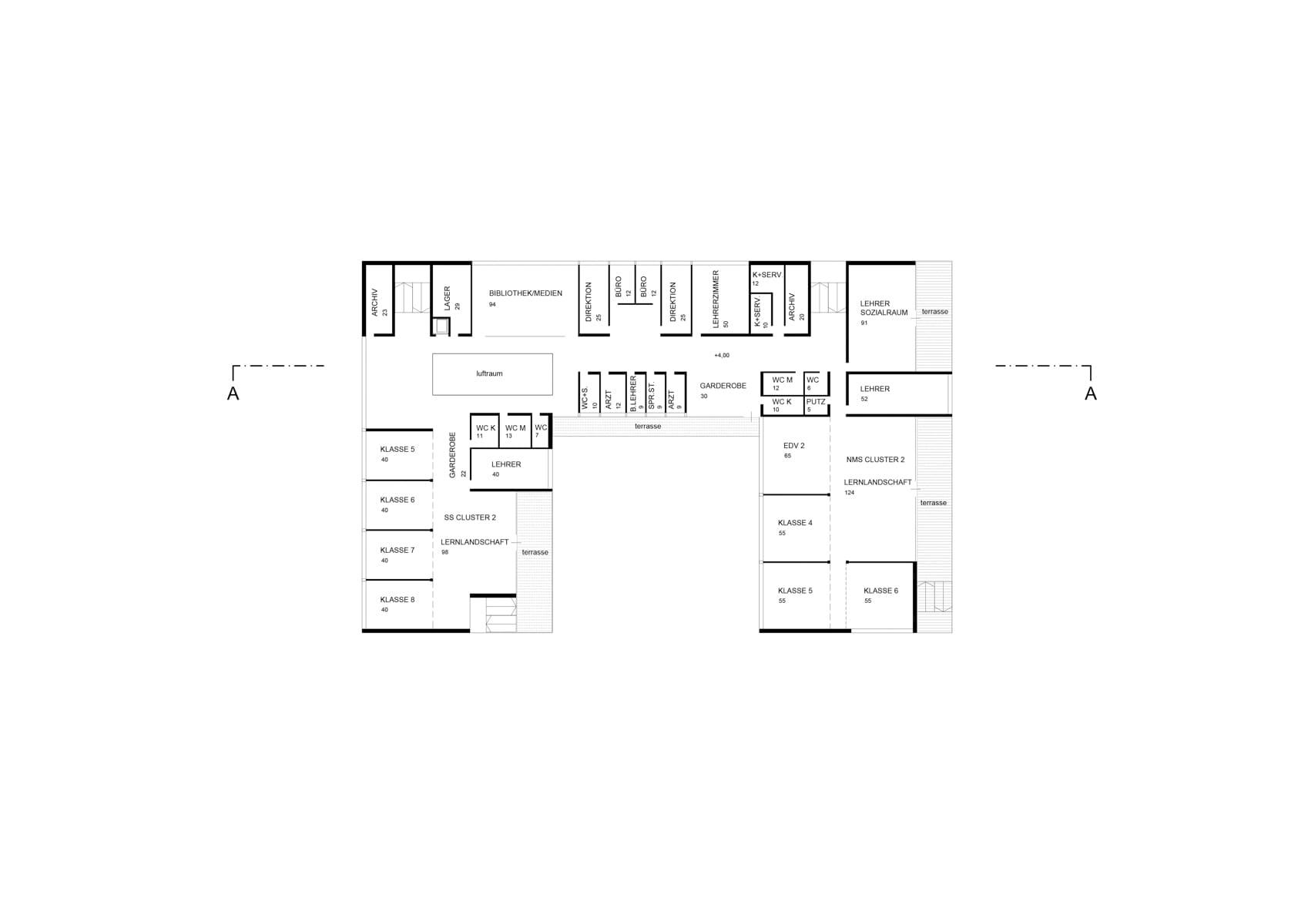Architekturwettbewerb, Schulbau, Schulzentrum, Hall in Tirol