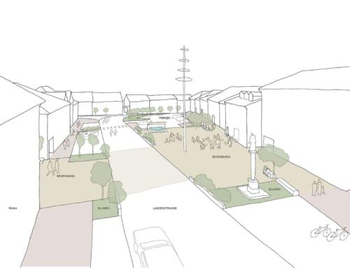 Neugestaltung Stadtplatz Pregarten
