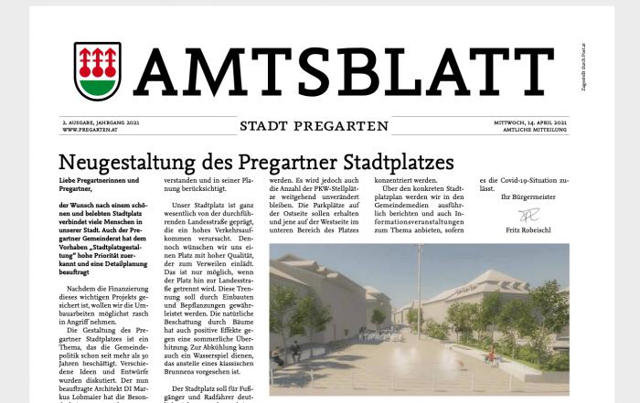 Stadtplatz Pregarten